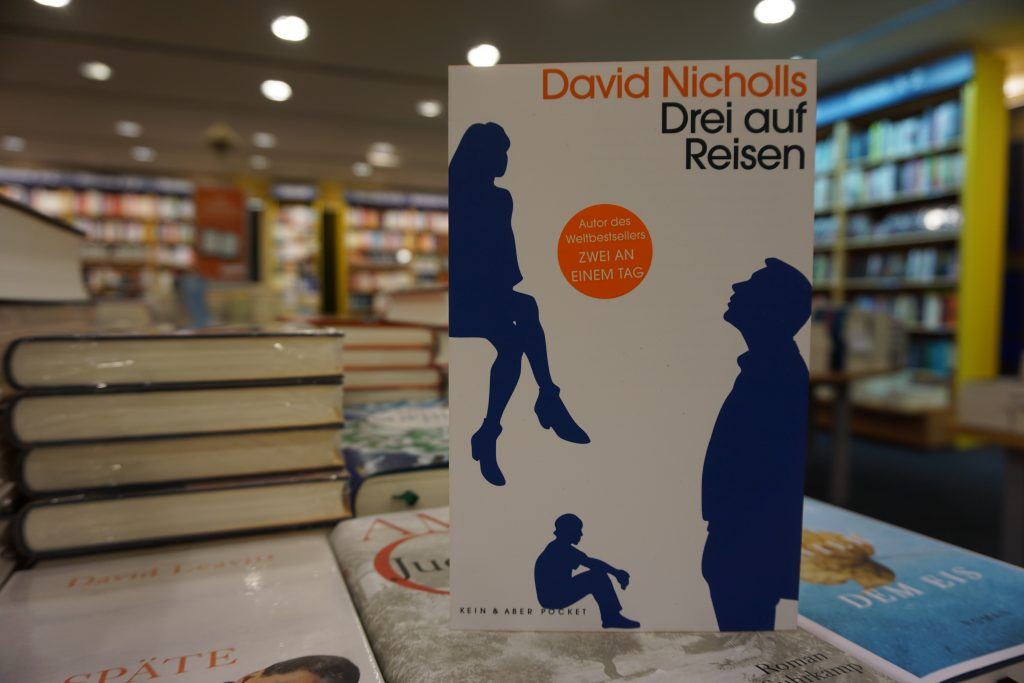 """David Nicholls: """"Drei auf Reisen"""""""