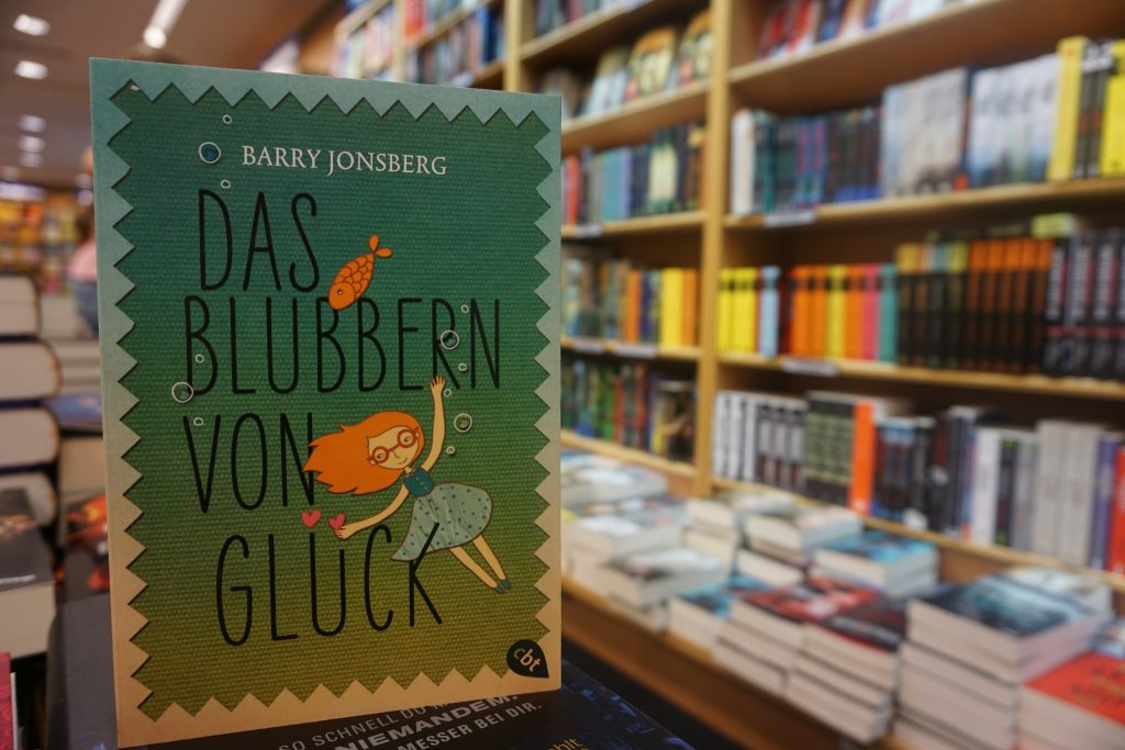 """Barry Jonsberg: """"Das Blubbern von Glück"""""""