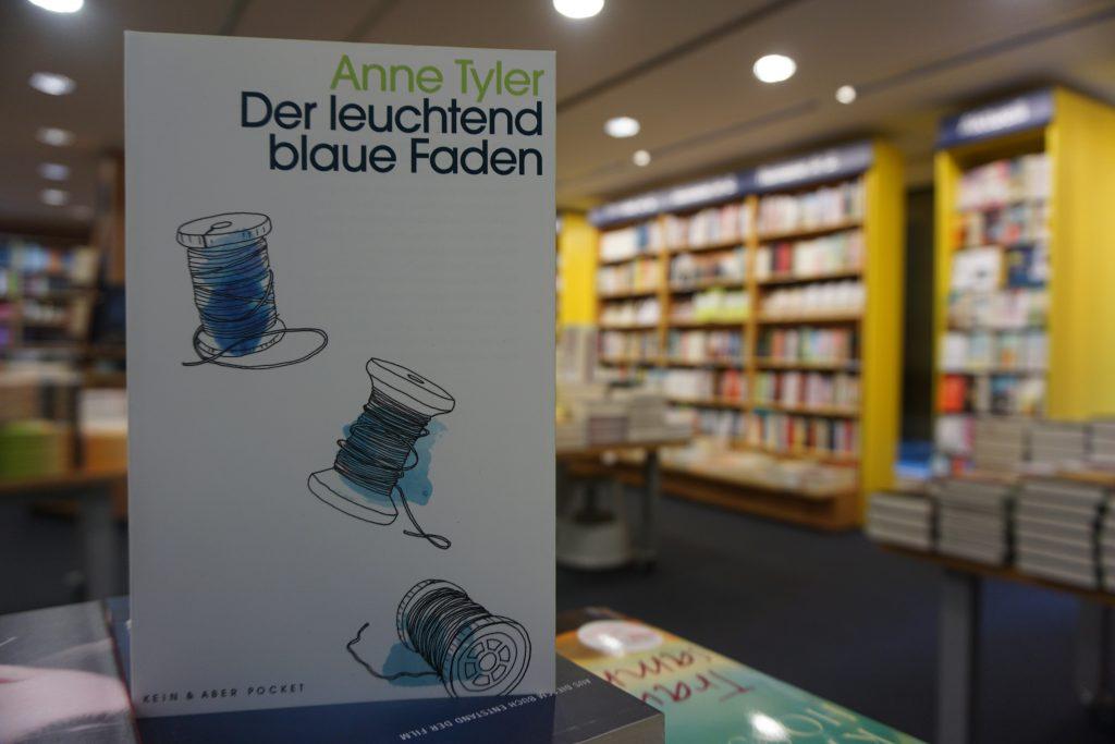 """Anne Tyler: """"Der leuchtend blaue Faden"""""""