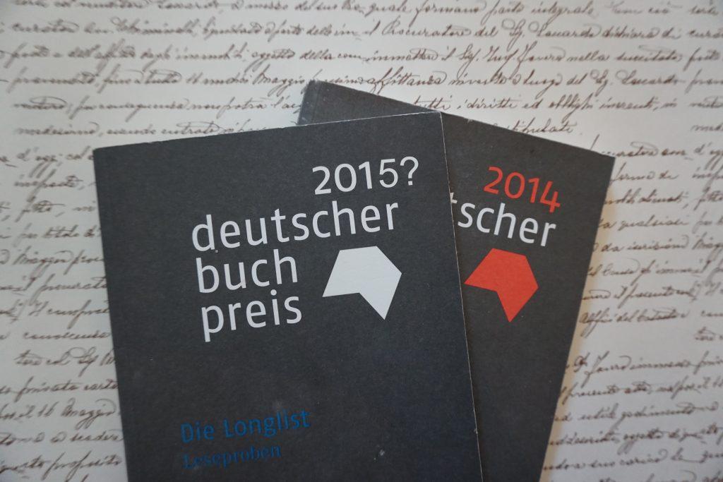 Deutscher Buchpreis 2015 – Was könnte auf der Longlist stehen?