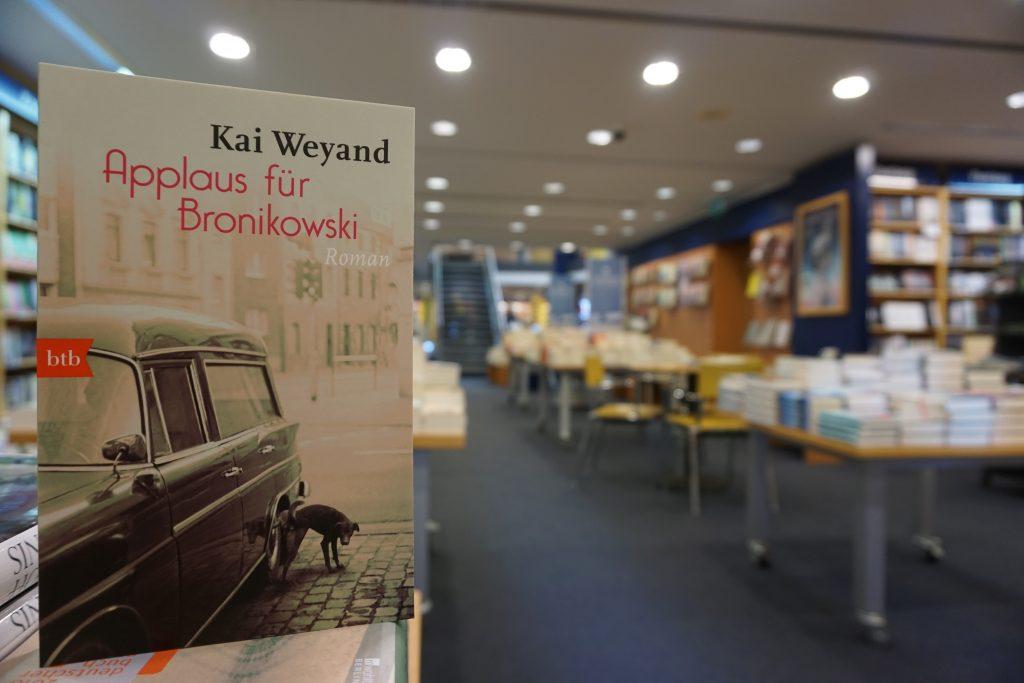 """Kai Weyand: """"Applaus für Bronikowski"""""""