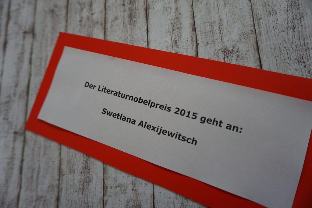 Literaturnobelpreis 2015: Swetlana Alexijewitsch