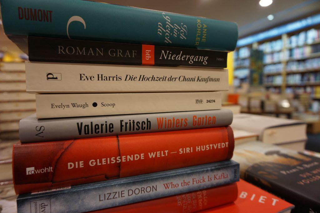 Die besten Romane des Jahres 2015