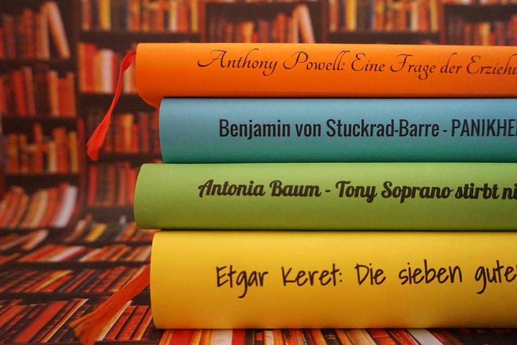 Das Literarische Quartett – Die Bücher der vierten Sendung