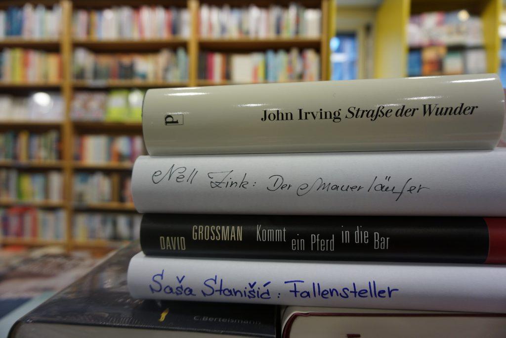 Das Literarische Quartett – Die Bücher der 5. Sendung vom 29. April 2016