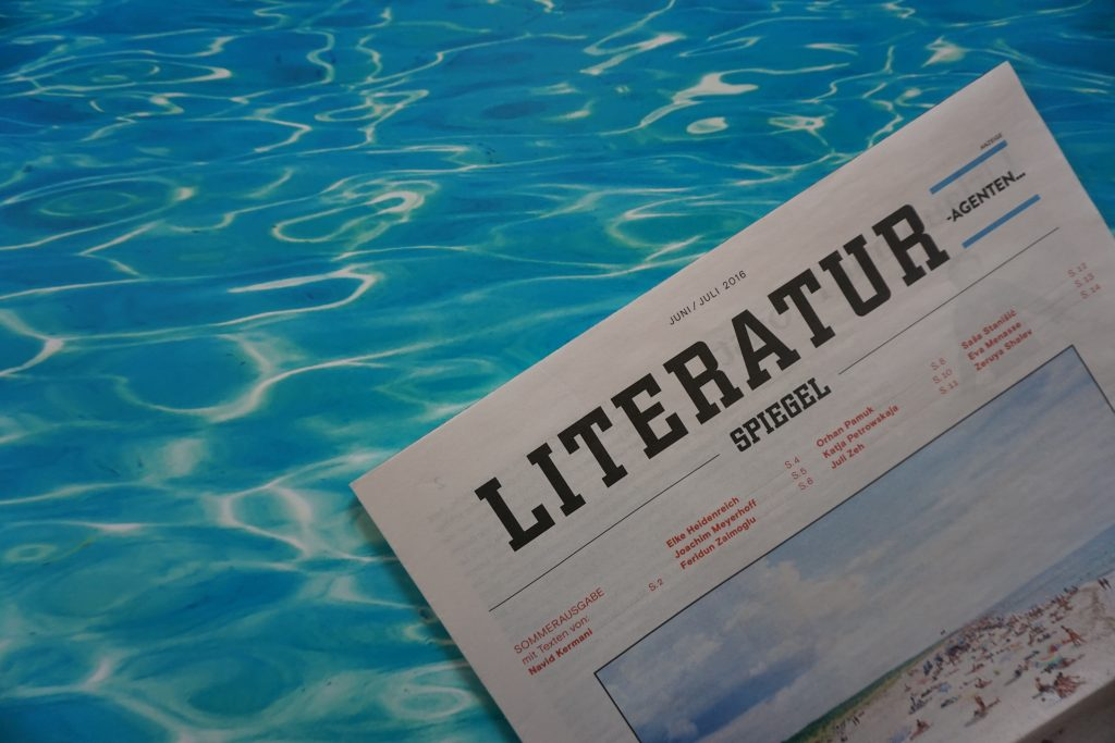 Der Literatur-SPIEGEL im Juni und Juli 2016