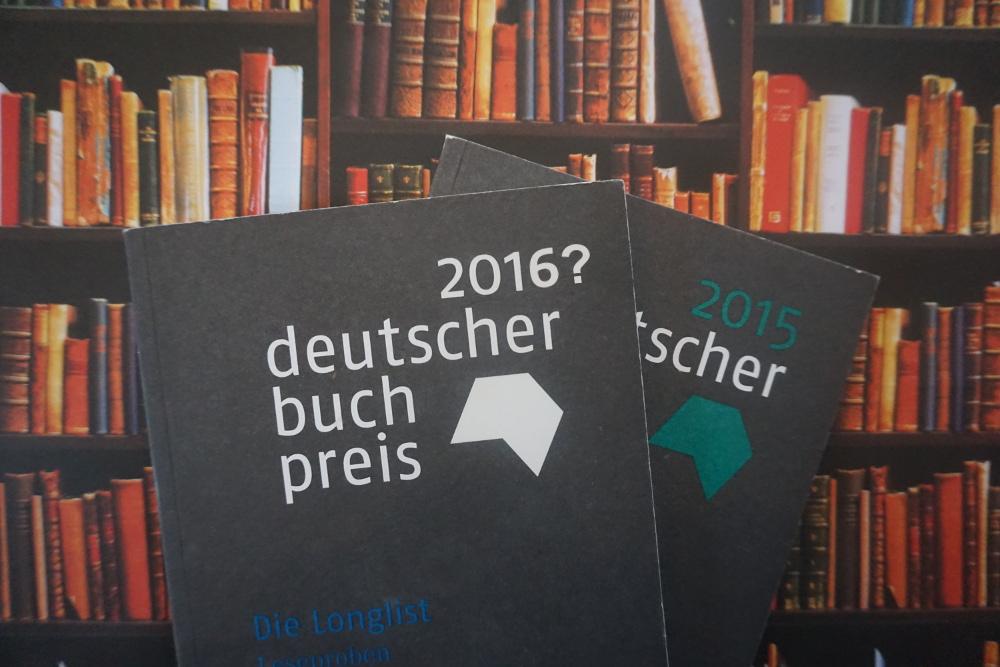 Deutscher Buchpreis 2016 – Was könnte auf der Longlist stehen?