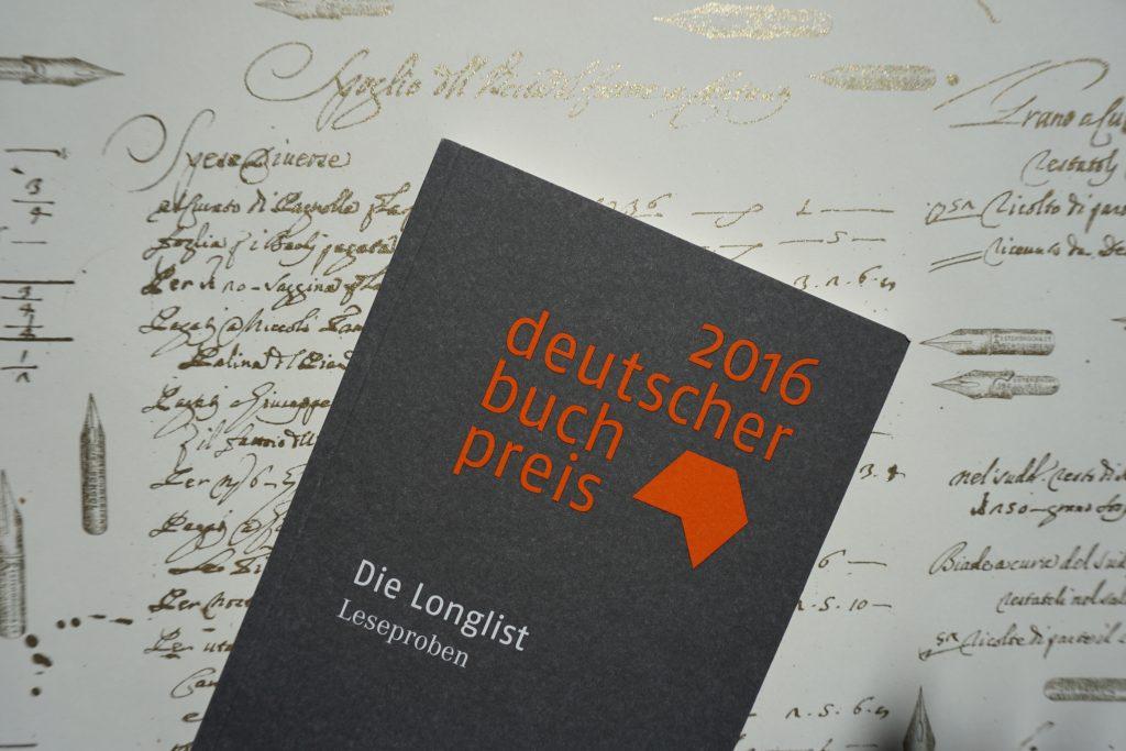 Deutscher Buchpreis 2016 – Die Longlist: Eine Rezensionsübersicht