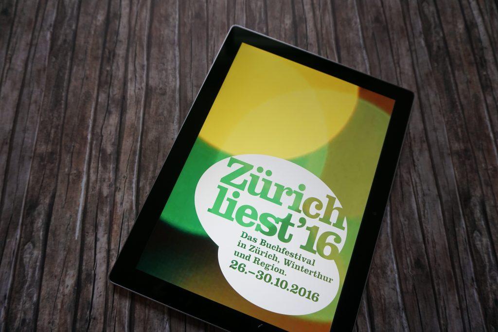 Zürich liest 2016 – Das Programm: Mein Festivalplan