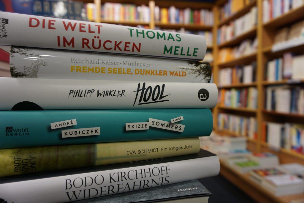 Deutscher Buchpreis 2016 – Die Shortlist: Ein Überblick