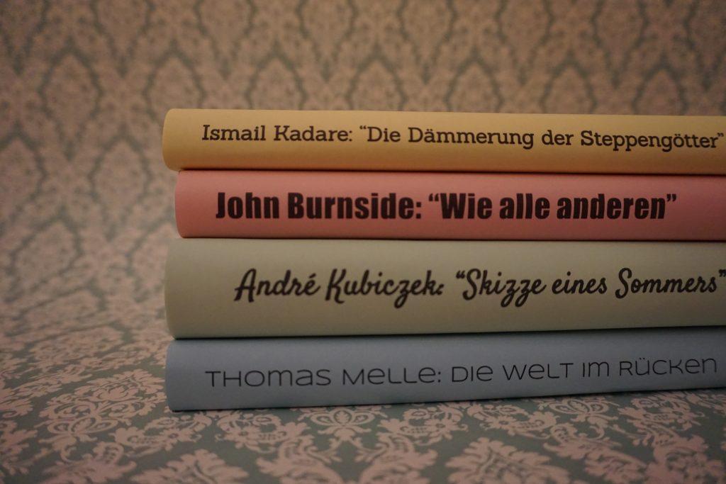 Das Literarische Quartett – Die Bücher der Sendung vom 14.Oktober 2016