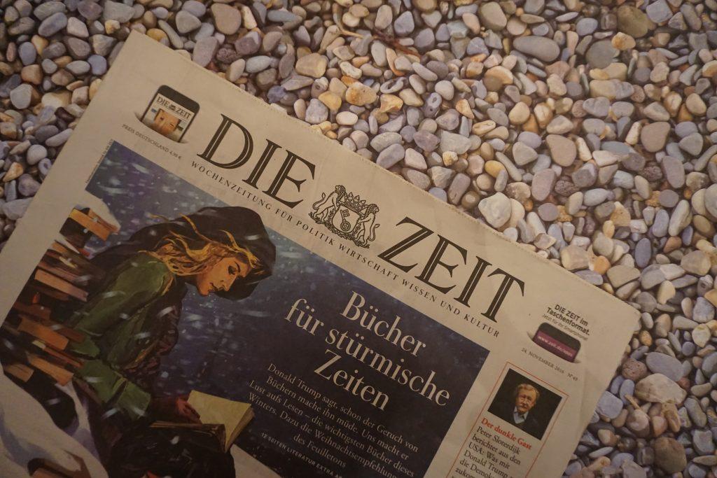 Die Weihnachts-Literaturbeilage der ZEIT 2016: Die wichtigsten Bücher des Winters