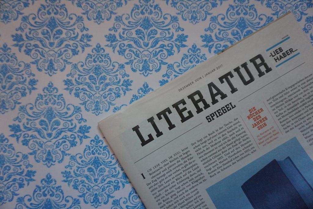 Der Literatur-SPIEGEL im Dezember 2016 – Die Bücher des Jahres 2016