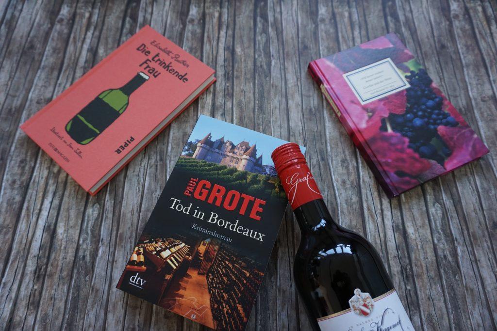 Geschenktipps: Romane und andere Bücher zum Thema Wein