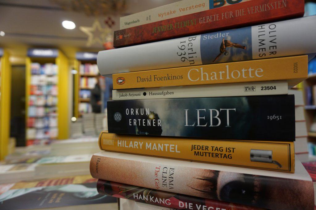 Die besten Romane des Jahres 2016