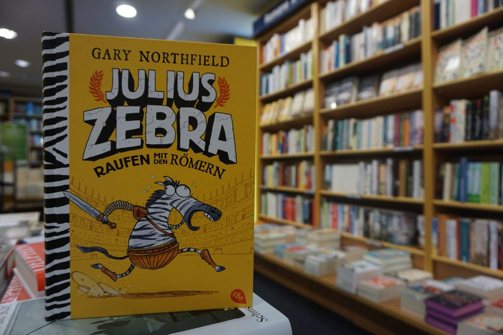 """Gary Northfield: """"Julius Zebra – Raufen mit den Römern"""""""