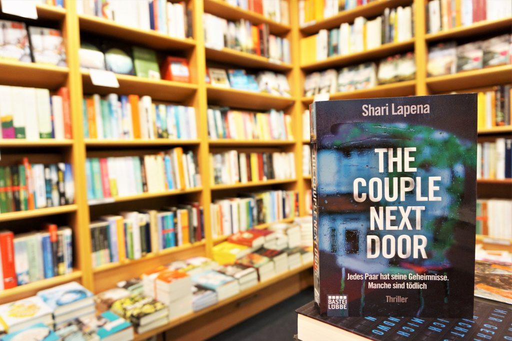 "Shari Lapena: ""The Couple Next Door"""