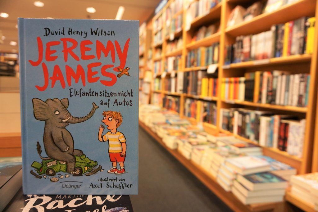 """David Henry Wilson: """"Jeremy James oder Elefanten sitzen nicht auf Autos"""""""