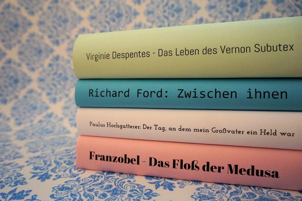 Das Literarische Quartett – Die Bücher der Sendung am 11. August 2017