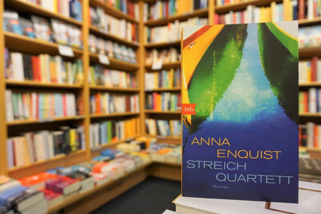 """Anna Enquist: """"Streichquartett"""""""