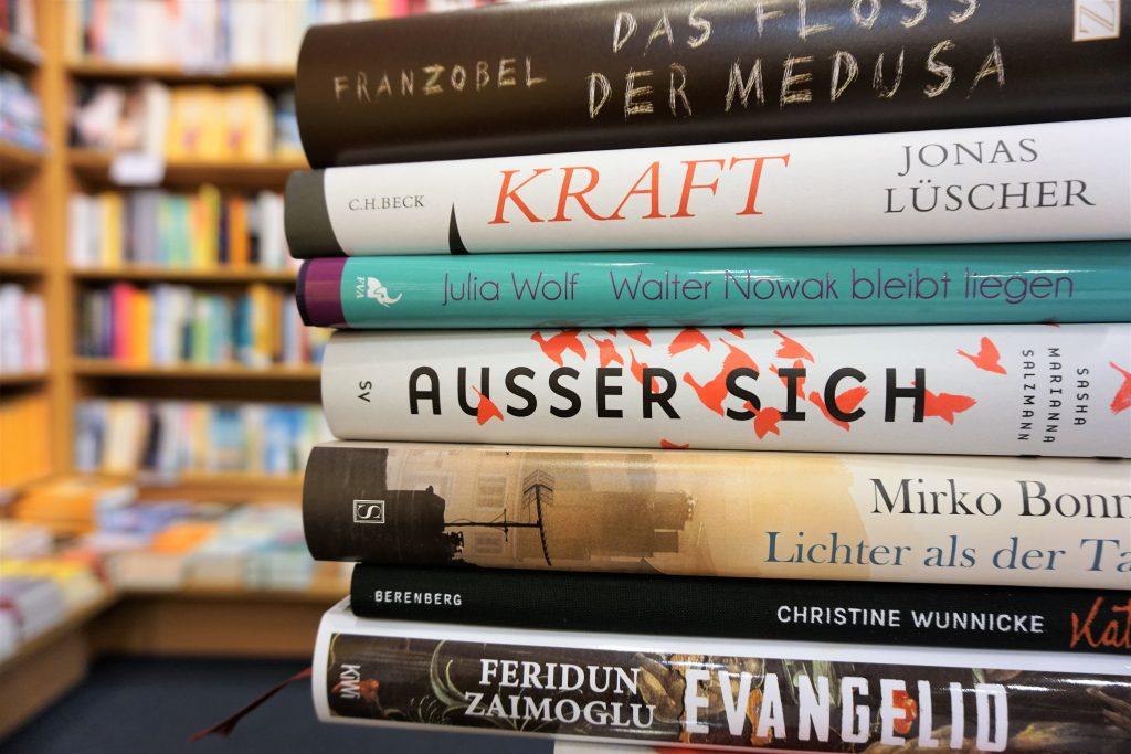 Deutscher Buchpreis 2017: Die Longlist – Eine Rezensionsübersicht