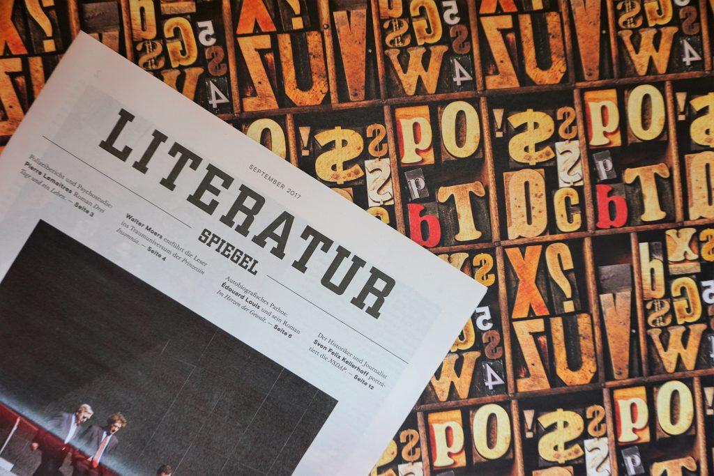 Der Literatur-Spiegel im September 2017 – Meine Highlights