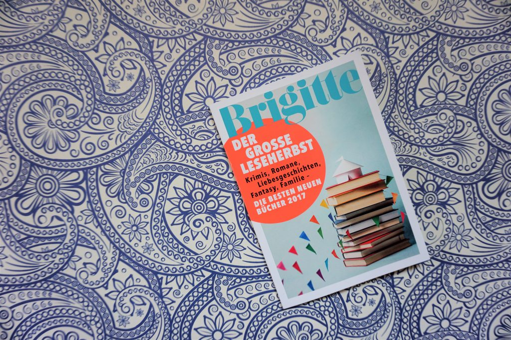 """Brigitte """"Bücher-Spezial"""": Der grosse Leseherbst – Die besten neuen Bücher 2017"""