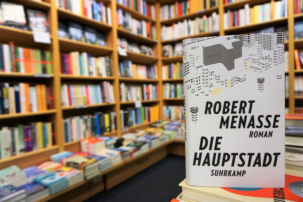 """Deutscher Buchpreis 2017: """"Die Hauptstadt"""" von Robert Menasse"""