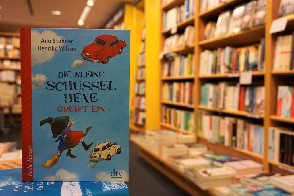 """Anu Stohner: """"Die kleine Schusselhexe greift ein"""""""