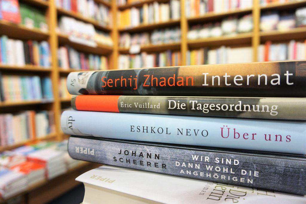 Das Literarische Quartett: Die Bücher der Sendung am 20. April 2018