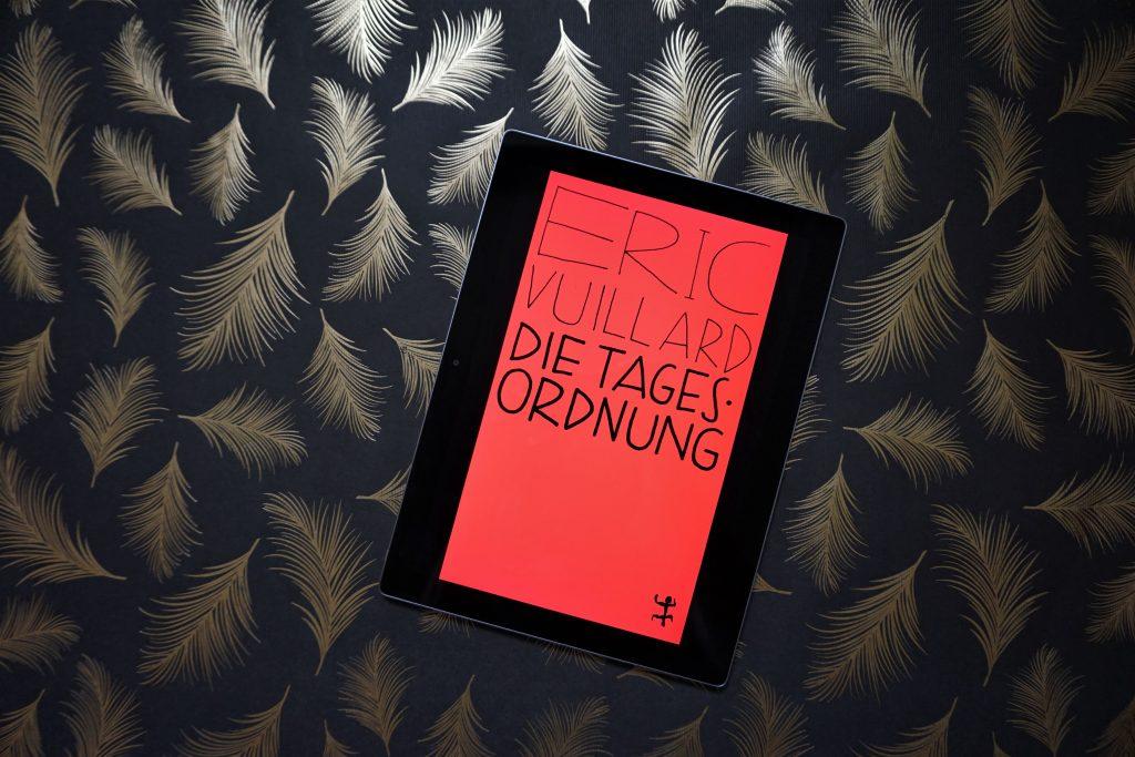 "Éric Vuillard: ""Die Tagesordnung"""