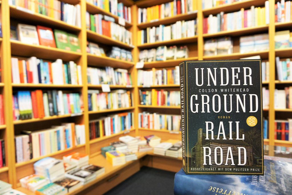 "Colson Whitehead: ""Underground Railroad"""