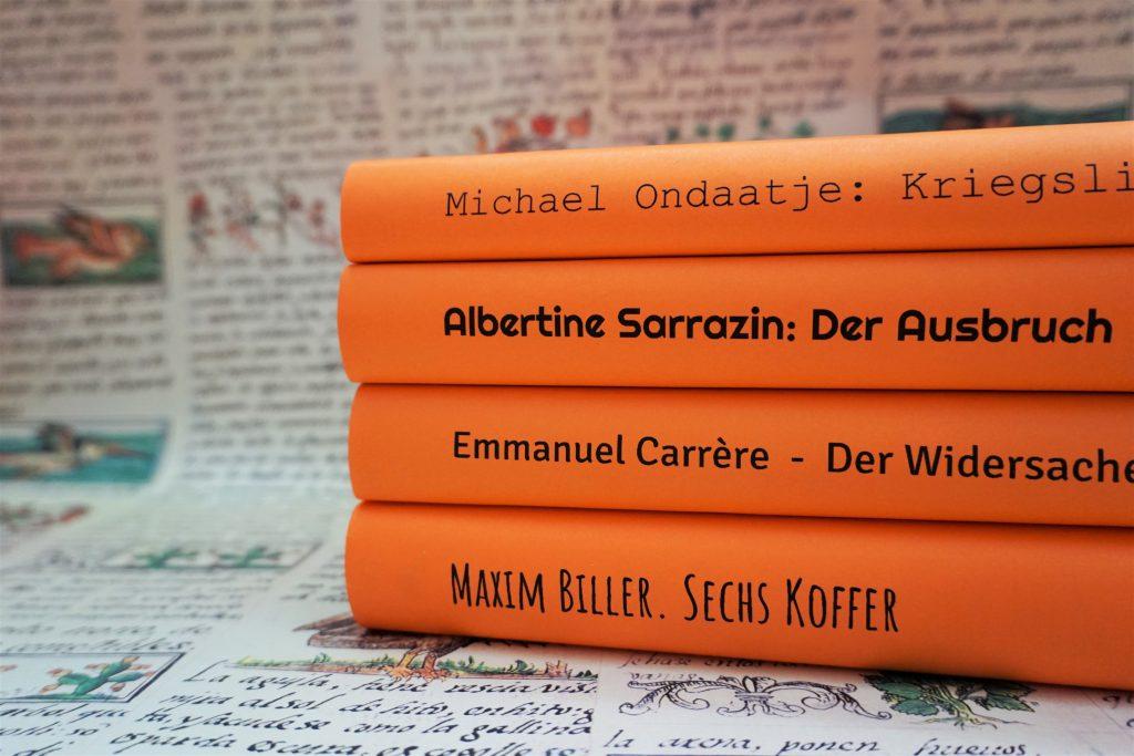 Das Literarische Quartett: Die Bücher der Sendung am 10.August 2018