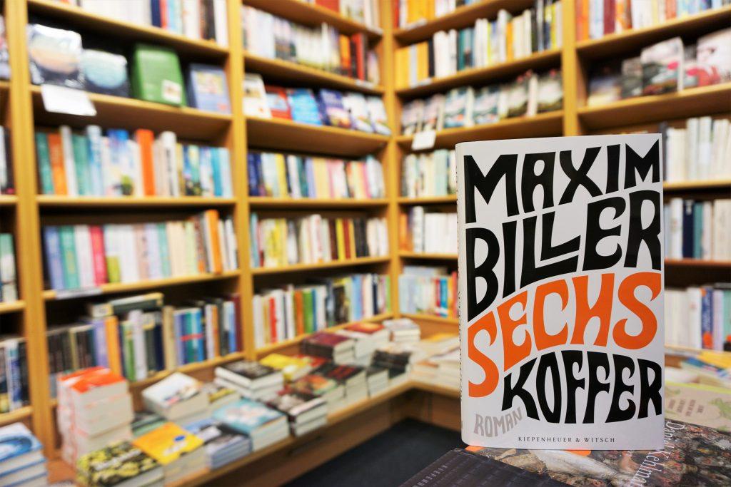 """Maxim Biller: """"Sechs Koffer"""""""