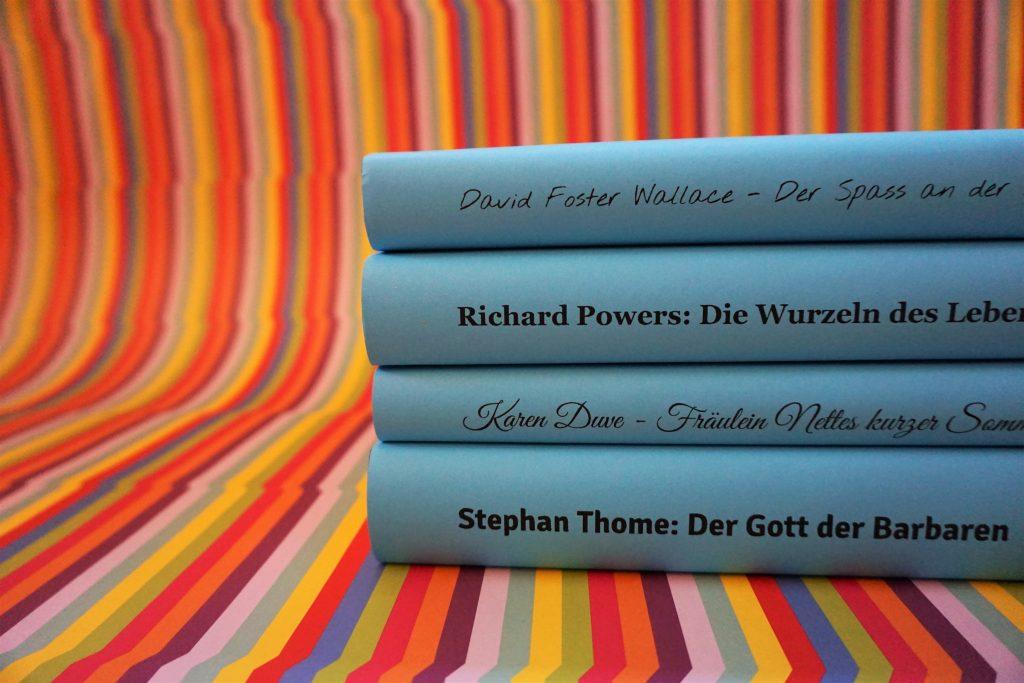 Das Literarische Quartett: Die Bücher der Sendung am 12. Oktober 2018