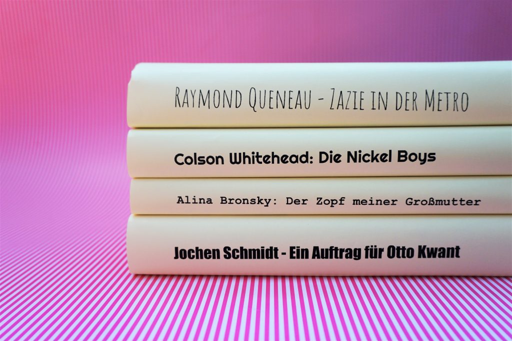 Das Literarische Quartett – Die Bücher der Sendung am 14. Juni 2019
