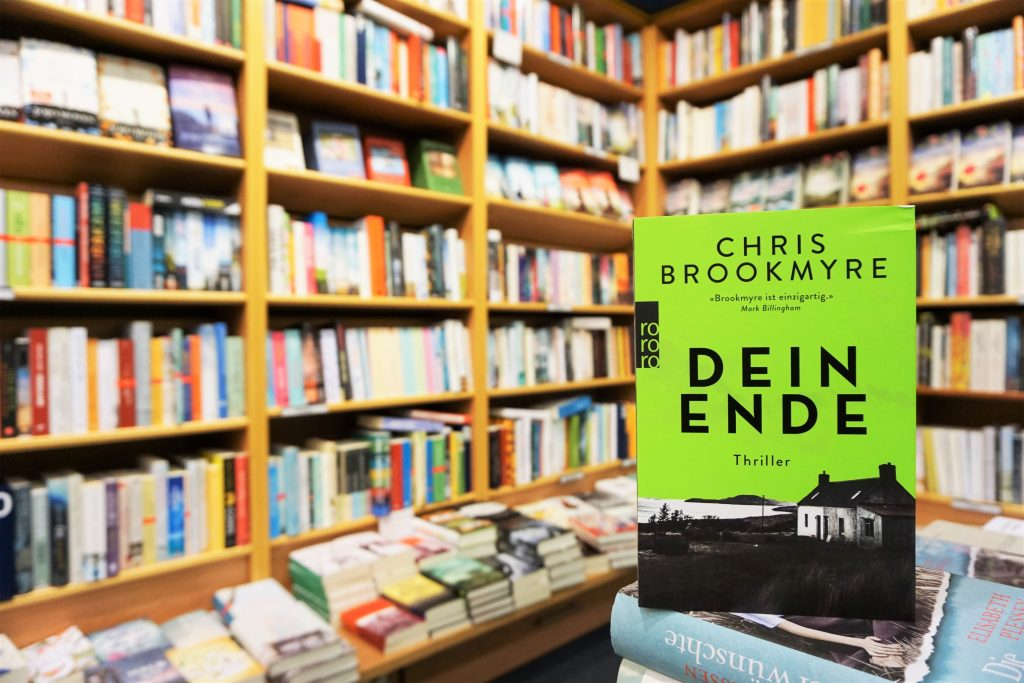 "Chris Brookmyre: ""Dein Ende"""